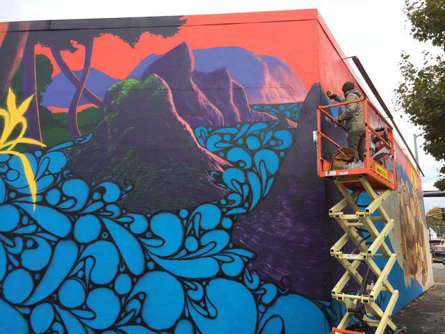 Rainier Ave Mural Reveal, Nov. 11