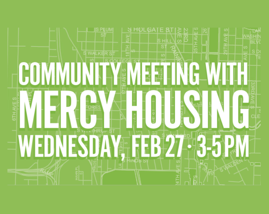 Community Meeting With Mercy Housing