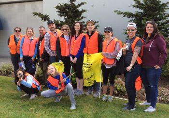 Many Volunteers for Bridge-2-Beach 2019