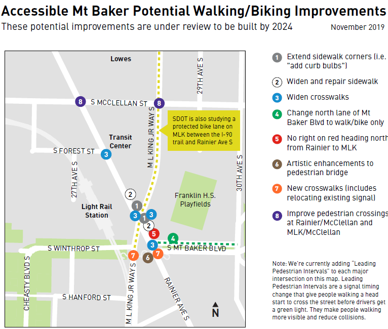 Accessible Mt. Baker Pedestrian Improvements